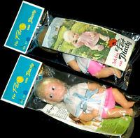 Plasty Pet Embalaje Original 70er Muñeca + Xtra 16 S. Prosekt Rareza con Many
