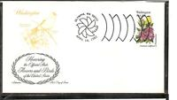 US SC # 1999 State Birds And Flowers ( Washington ) FDC . Artmaster Cachet