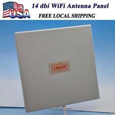 14dbi 2.4Ghz Long Range Antenna Panel High Gain WiFi Wlan Extender Direction SMA