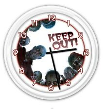 Zombie SILENT Wall Clock - Walking Dead Rising Apocalypse Survival - GREAT GIFT
