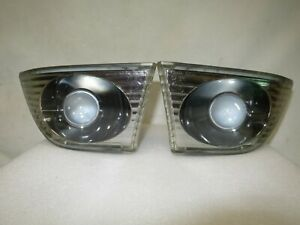 Altezza LEXUS IS200 JDM RS200 SXE10 Genuine Toyota Blk Housing Fog lights