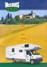 McLouis Reisemobile Prospekt 2003 2004 brochure Autoprospekt Auto PKWs LKWs Auto
