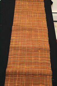 """f-933 vintage silk obi fabric - ribbon - 14"""" x 44"""""""