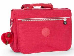 Kipling NEW SCHOOL Medium Backpack Schoolbag - Strawberry Ice