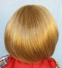 "Tara 14-15"", Lt Ginger w/Bln, Short cut, Smooth, with Bangs, Full Cap, Monique"