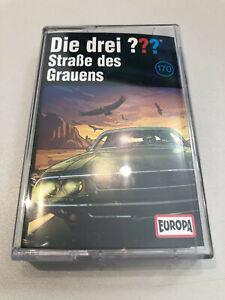 ✅ DIE DREI FRAGEZEICHEN - ??? - MC - 170 - STRASSE DES GRAUENS