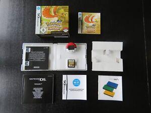 Pokémon Goldene Edition HeartGold Nintendo DS - OVP mit Anleitung und Pokewalker