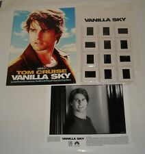 2001 Vanilla Sky Promo Movie Press Kit 12 Photos Tom Cruise Cameron Crowe Film