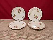 Rosenthal China Moss Rose (Ivory) Set of 4 Bread Plates 6 1/4""