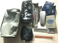 Pan Am Airlines Vtg 1980s 1st Class Amenities/Amenity Bag Kit Complete 11 items