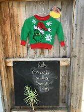 Toddler - Christmas The Grinch Pullover Sweater, Size 12 Months