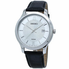 Seiko Neo Classic Silver Dial Men's Watch SUR297