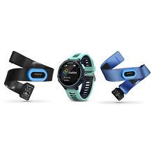 Garmin Forerunner 735XT Multisport GPS Watch Midnight/Frost Blue Tri-Bundle