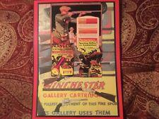 Winchester shotgun shell box poster
