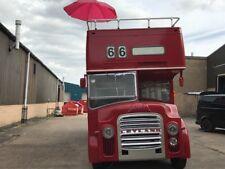 Open top double decker bus