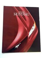 1995 Ford Mustang and GT 24-page Original Car Sales Brochure