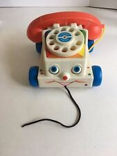 Fisher Price Chatter Phone Classic Toy Telephone Pull Toy New out of box Retro