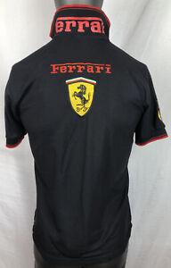 Ferrari F-1 Short Sleeve Shirt Size M In Good Condition F198