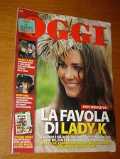 OGGI 2010/49=KATE MIDDLETON STORY=ANNA MARIA BARBERA=NATHALIE GIANNITRAPANI=