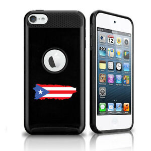 For Apple iPod Touch 5th 6th Shockproof Hard Case Cover Puerto Rico