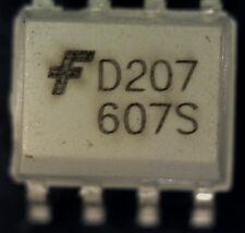 5 x Fairchild MOCD207M MOCD207 dual opto-coupler SMD D207 S08 opto-isolator
