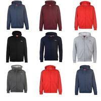 Slazenger Full Zip Hoody Jacket Mens Hoodie Sweatshirt Sweater Hooded Top