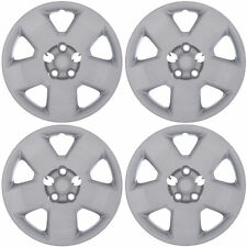 """4PC 05-11 DODGE CHARGER MAGNUM 17"""" inch SILVER BOLT ON WHEEL COVER Hub Caps Skin"""