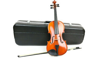 """Samuel Eastman Viola Model VA80 15"""" with Hard Carrying Case and (1) Bow"""