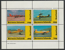 GB Locals - Bernera 2866 - AIRCRAFT perf sheetlet unmounted