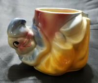 VINTAGE SHAWNEE POTTERY CERAMIC CLOWN PLANTER (CIRCA 1950'S)