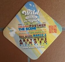 HERENT - 2013 / WILD IN 'T PARK / THE SCENE - POSTMEN - ABSYNTHE MINDED -- 1219