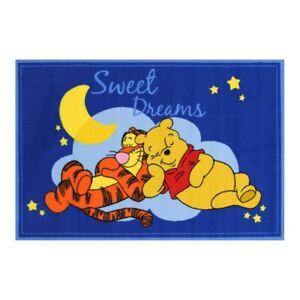 Disney Winnie Pooh sweat dreams 100 x 150m Rubber-backed Kids Rug NEW