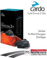 Cardo FRC2P001 Scala Rider FREECOM 2 interfono Interphone Moto Scooter Quad Atv