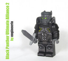 LEGO Custom -- Black Panther Marvel Ultimate Alliance II -- mini figure ironman