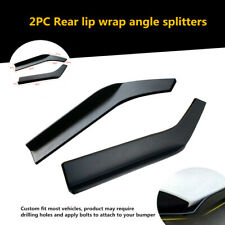 2x62cm Car Bumper Spoiler Anti-crash Rear Lip Angle Splitter Diffuser Protector