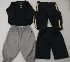 Baby Boys Size 3-6 Months Lot of 4 Pants and Shirt Carters, Old Navy, OshKosh