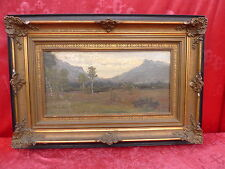Pretty Antique Painting__Landscape__Signed__