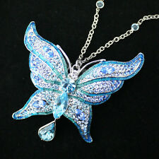 The Blue Butterfly necklace from Castle, replica prop