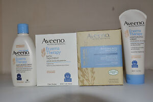 Aveeno Eczema Therapy Moisturizing Cream 140g /  207g / 354g New