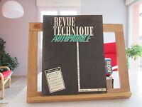 REVUE TECHNIQUE AUTOMOBILE N°132 AVRIL 1957 TBE BERLIET