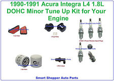 90-91 Acura Integra Tune Up Air, Fuel Filter, Oil Filter, Spark Plug, PCV Valve