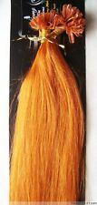 """Hot 18""""-32"""" U Nail Tip Fusion Keratin Remy Human Hair Extensions Full Head 100g"""