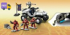 Mega Bloks Construx Halo H3 Deluxe Warthog Building Set Action Figure Bulding