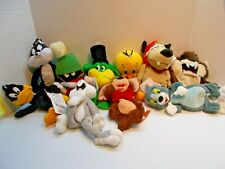 Warner Bros. 10 Bean Bag Dolls All Different All New With Tags c