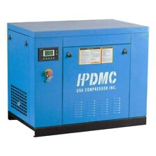 5.5KW Rotary Screw Air Compressor 7.5 HP 29 cfm 125 psi 415 V 3Ph Industrial