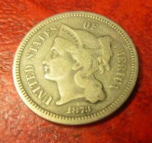 1873 III Cent Nickels