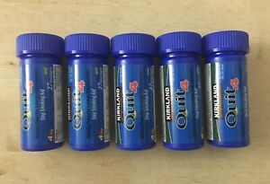 5(Five) Quit 4 Kirkland Signature Nicotine Lozenge Mint (27x5)