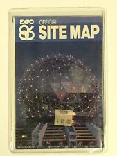 EXPO '86 OFFICIAL SITE MAP - 1986 World Exposition - World's Fair Vancouver, BC
