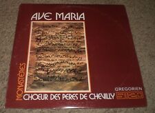 Ave Maria Choeur Des Peres De Chevilly~RARE Gregorian Chant Choir~Lyric Inner