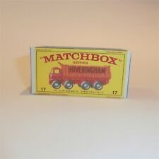 Matchbox Lesney 17 d Foden Hoveringham Tipper Truck empty Repro E style Box